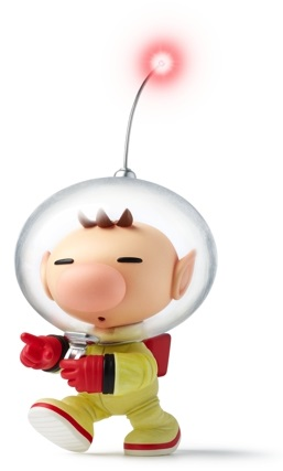 Olimar, as he appears on the Pikmin Short Movies.