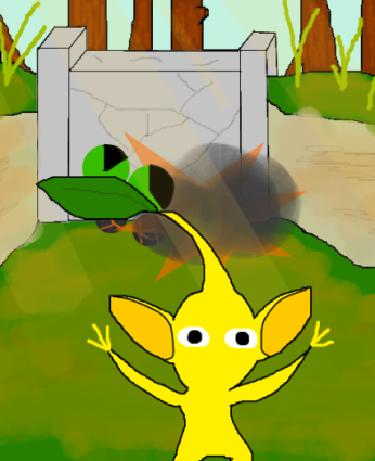 Yellow Pikmin Encounter.png