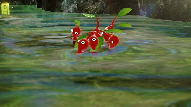 water pikmin 3 enemies