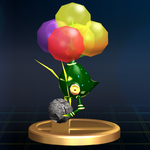 Careening Dirigibug trophy SSBB.png