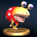 Bulborb trophy SSBB.png