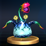 Creeping Chrysanthemum trophy SSBB.png