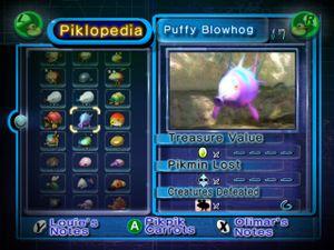 pikmin 3 deluxe piklopedia