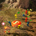 Pikmin and Olimar sunset P1 group art.png